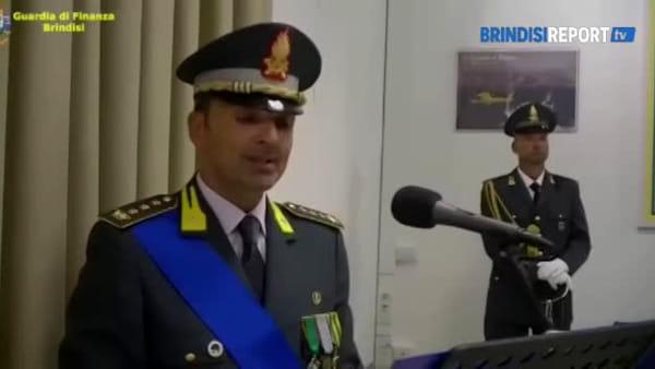 """Finanza, cambio di comando a Brindisi: """"Grandi risultati nel contrasto ai traffici illeciti"""""""
