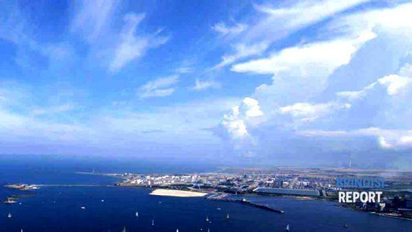 Il petrolchimico di Brindisi, veduta aerea