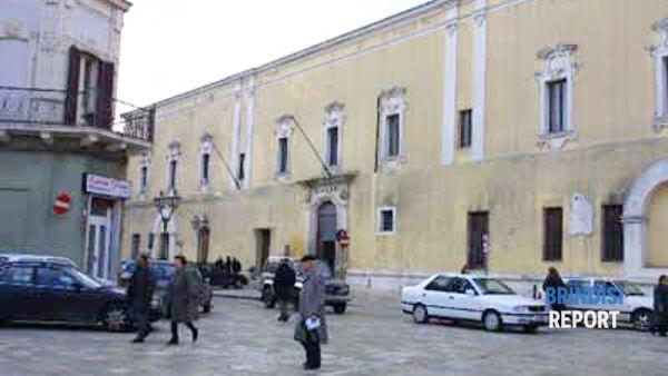 Il municipio di Mesagne