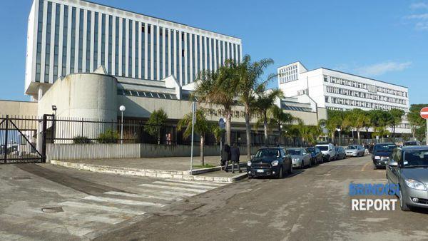 Brindisi, il palazzo della procura e quello del tribunale