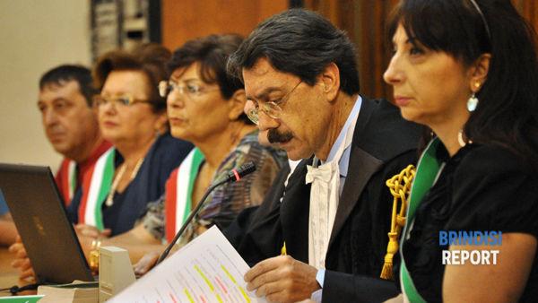 Il presidente della Corte d'Assise, Domenico Cucchiara