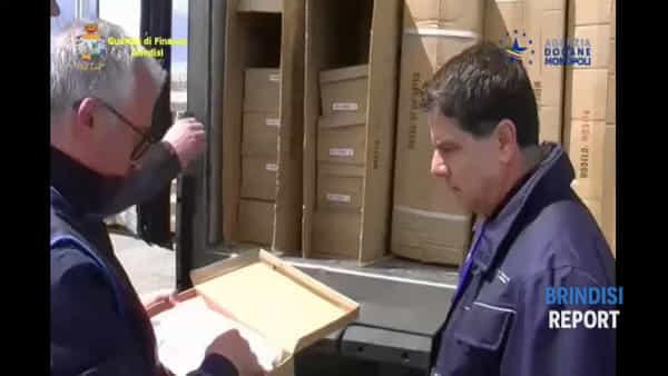 Porto di Brindisi: senza fine il traffico di articoli taroccati realizzati in Cina