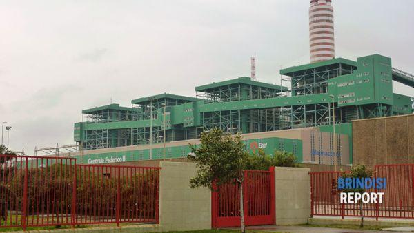 La centrale Enel di Brindisi Cerano