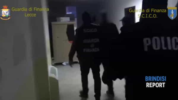 Armi e droga dall'Albania, le immagini degli arresti