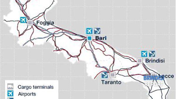 Il sistema logistico della Puglia