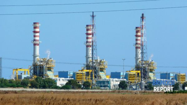 La centrale Enipower di Brindisi
