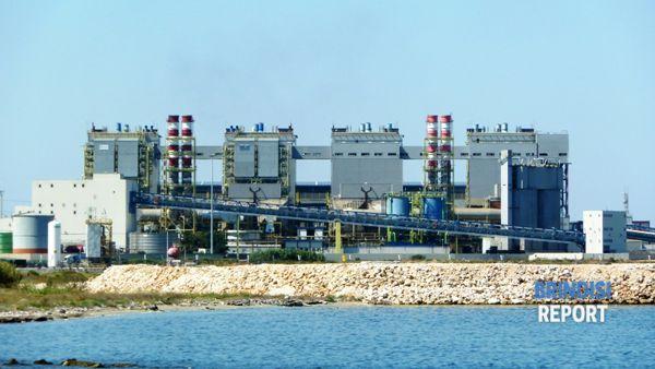 La centrale Edipower di Brindisi - Costa Morena