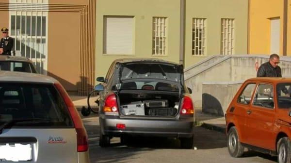 Omicidio Cosimo Tedesco, rilievi sul luogo della sparatoria 3-2-2-2