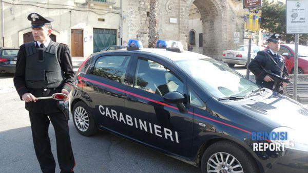 Carabinieri a Oria