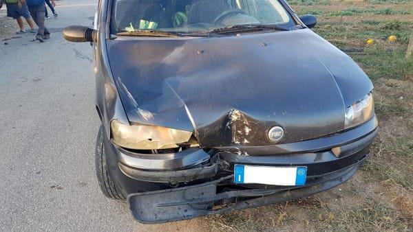 Incidente strada Palmarini 3-3