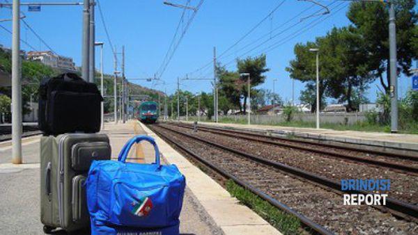 Una stazione ferroviaria pugliese