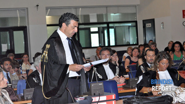 L'arringa dell'avvocato Franco Orlando