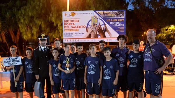 Col. De Magistris premia ASD Basket Abruzzo Sulmona-2