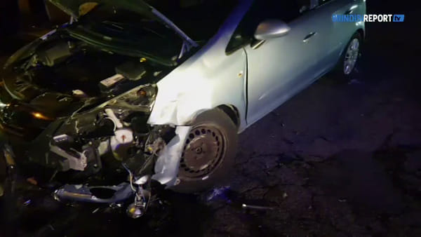 Incidente in via Provinciale per Lecce: tre automobilisti feriti