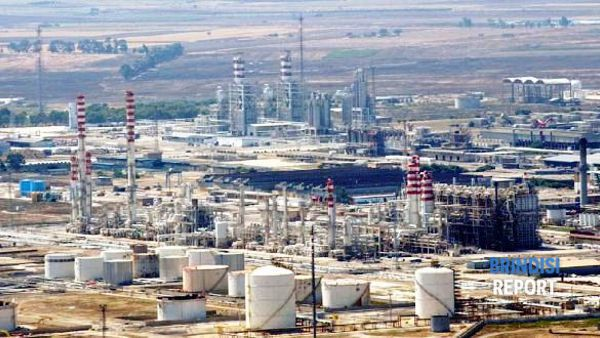 Il petrolchimico di Brindisi