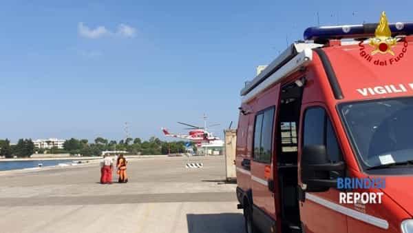 Sommozzatori vigili del fuoco, distaccamento porto 2-2