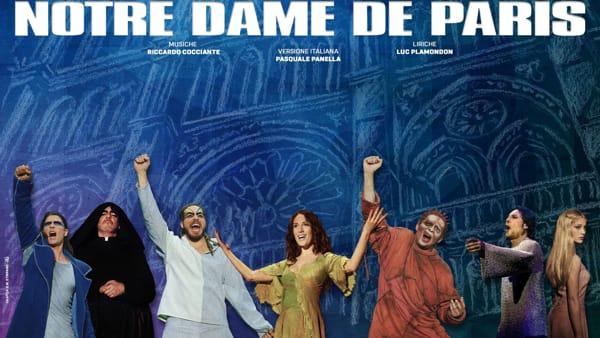 Notre Dame De Paris, l'opera moderna più famosa al mondo al Forum Eventi di San Pancrazio