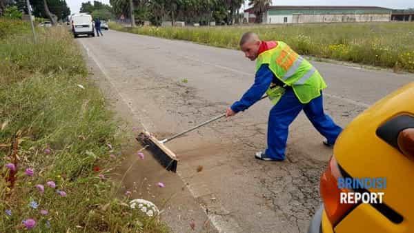 pulizia sede stradale-2