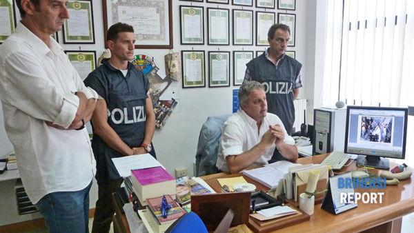Il dirigente della Digos, Vincenzo Zingaro