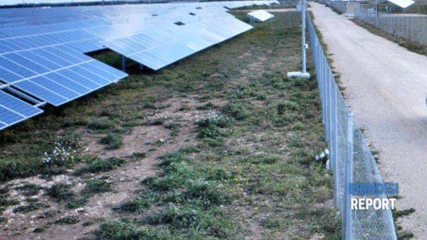 Un impianto fotovoltaico nel Brindisino