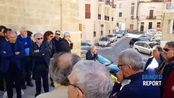 Un violino e Bella Ciao per l'ultimo saluto a Vittorio Bruno Stamerra