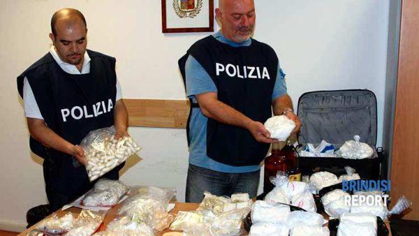 Un sequestro di cocaina proveniente dai Balcani