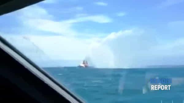 Ammaraggio di aereo nelle acque di Brindisi: esercitazione della Guardia Costiera