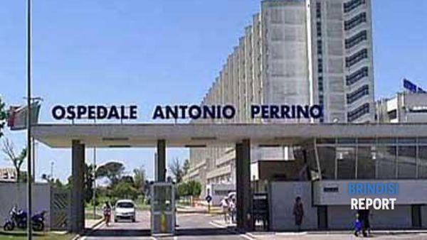 L'ingresso dell'ospedale Perrino