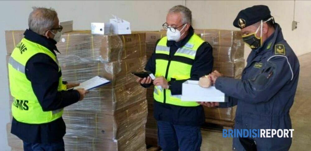 Porto di Brindisi: sequestrate più di 2mila paia di scarpe Hermès ...