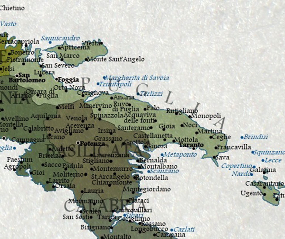 Cartina Puglia Zona Lecce.Nel 2100 Finiremo Sott Acqua Diventa Virale La Mappa Di Un Digital Artist