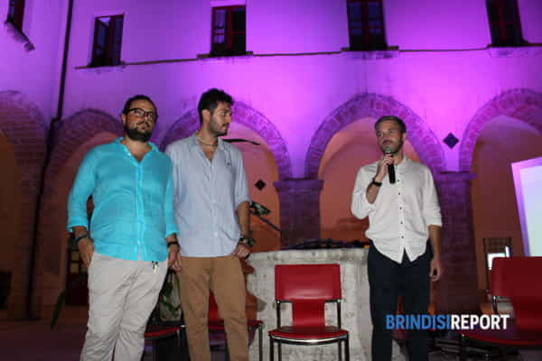 Da sinistra, Carlo Bruno Aversa, Giuseppe Patisso e Vitantonio Tasco-4