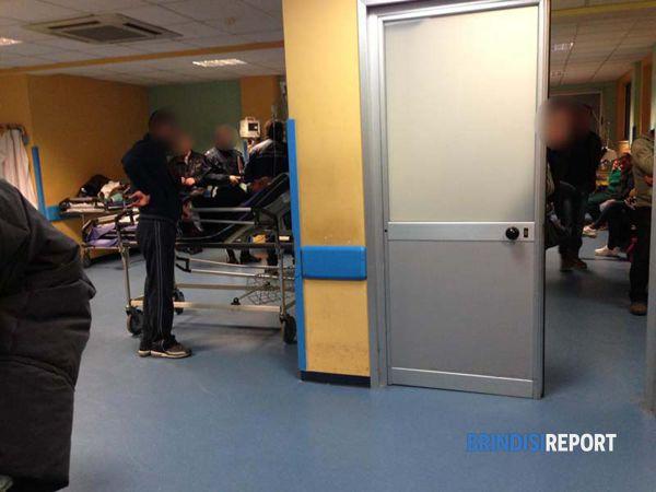 La sala d'attesa del pronto soccorso