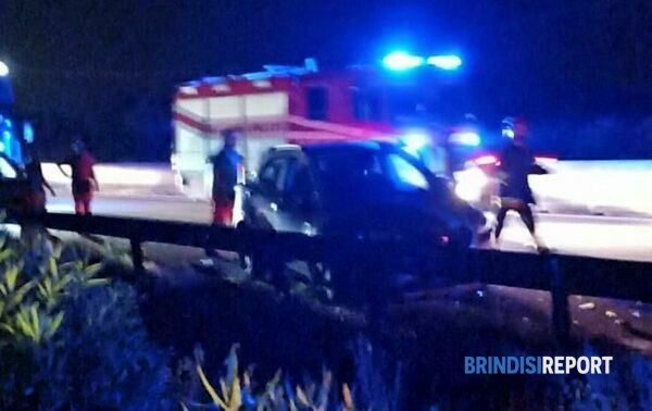 Incidente Brindisi-Bari 2-2-2