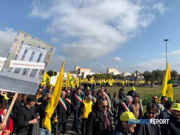 Manifestazione Xylella Coldiretti, Lecce 2-2