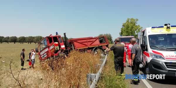 incidente camion vigili del fuoco6-2-2