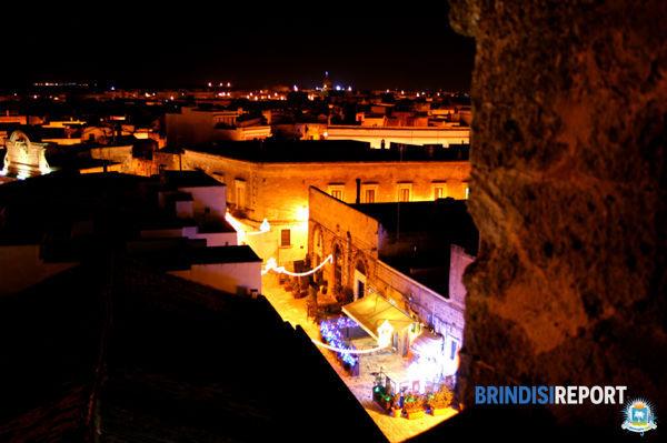 Il centro storico di Mesagne fotografato dal Castello