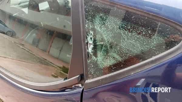 Omicidio Giampiero Carvone, , auto attinta dai colp 4-2