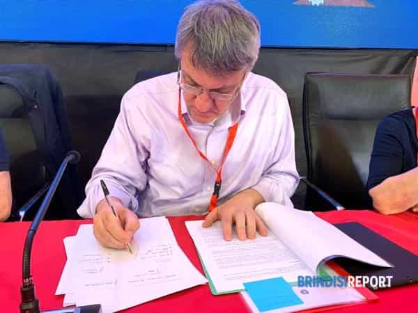 Maurizio Landini a Brindisi 2-2