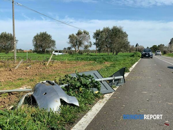 INCIDENTE BRINDISI COLEMI 2-2-2