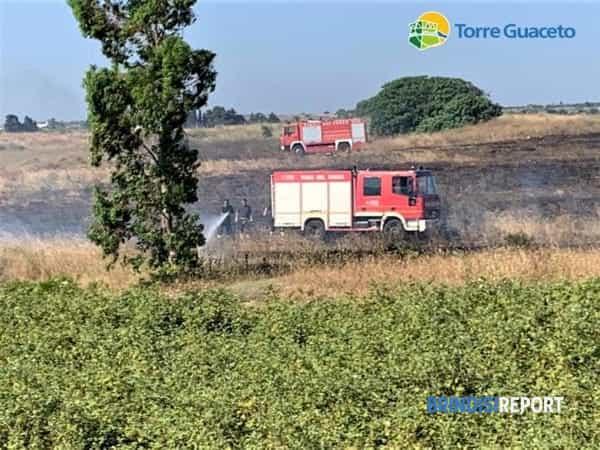 Incendio Torre Guaceto 26 06 2019 6-2