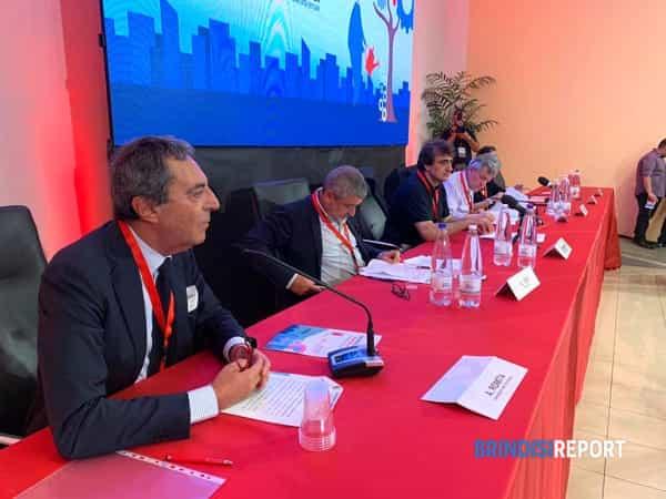 Maurizio Landini a Brindisi 3-2