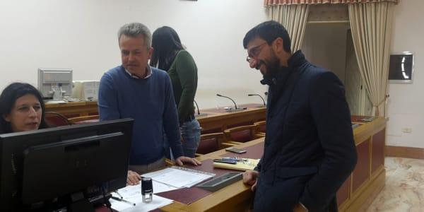 Foto presentazione lista Provincia di Brindisi con Rossi-2