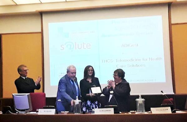 Premio Innovasalute all'azienda brindisina Thcs-2