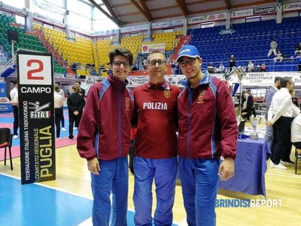Da sinistra, Riccardo Sabatelli, Massimiliamo Martina e Mattia Martina-2