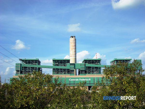 La centrale Enel di Cerano