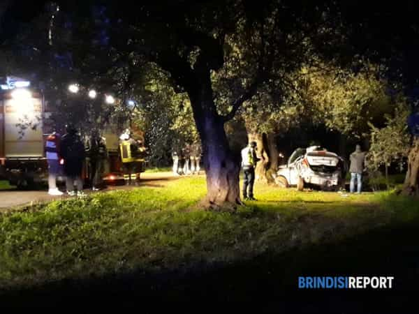 Incidente mortale Torchiarolo 2-2-2