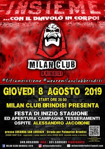 Locandina festa Milan Club Brindisi-2