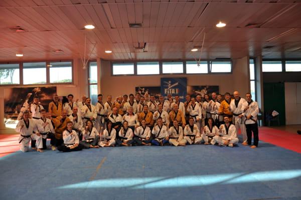 I partecipanti al corso con i rispettivi docenti-2