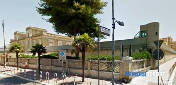 Il carcere di via Appia, a Brindisi-2