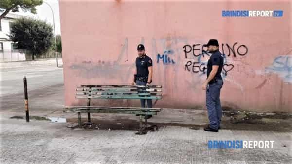 omicidio carvone - Il luogo della sparatoria prima del delitto-2